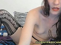 Dildo In Ass And Vibrator On My Clit Makes Me Cum