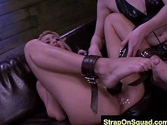 FetishNetwork Rose StrapOn Sex with Lexy and Brooklyn