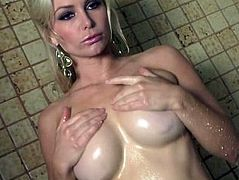 Heather Vandeven Hot Shower Dildo (www.HeatherV.com)