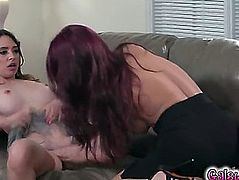 Quinn wilde and monique alexander wrestle every other to the bed