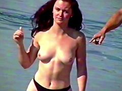 Girls Topless at the Beach II