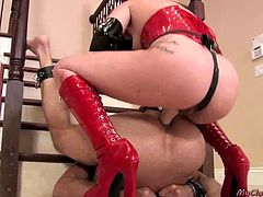 Wild Pegging and Ballbusting Scene