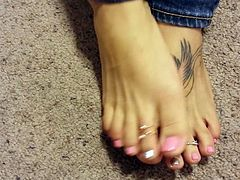 Girlfriends  toes 3