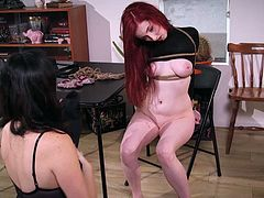 Redhead faces a kinky interrogation