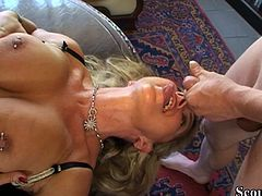 German stepson and friend seduced by hot stepmom