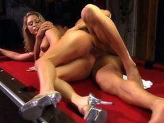 Eva Angelina moaning while her juicy pussy gets licked