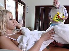 FamilyStrokes - Hot Step Mom Fucks Son Under The Covers