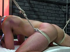 When you have no choice and it is impossible to escape punishment, then it is better to relax and try to enjoy. This what Michael Del Ray does. Join and enjoy gay bondage with intense SM & hardcore sex.
