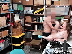 Police and face cop cam girl Suspect was jumpy and