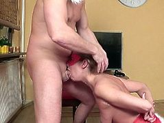 Santa Claus Punishes Submissive Sluty Hot Blond Girl ( Storyteller 3)