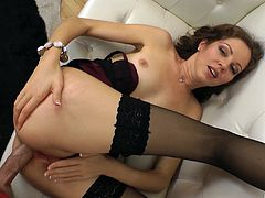 Kinky guy gets to fuck Elizaveta Golubeva while she moans