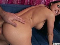 Two Massive Cocks Pounds On Aletta Ocean