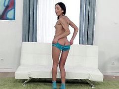 TeensLoveAnal - Adorable Brunette Gets Her Ass Stuffed