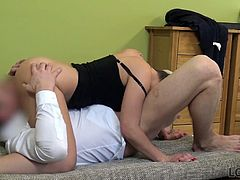 LOAN4K. Smart girl pays with sex for credit for her...