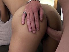 Cute enough Thai chick Zara is fucked by one kinky tourist