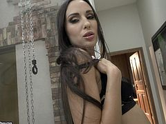 Skinny Lilu Moon needs to moan while he bangs her tight butt