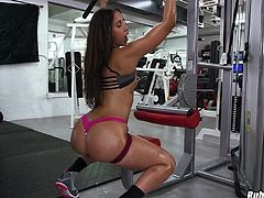 Oiled Up Gym Booty