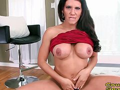 CougarSeason - Busty brunette cougar Leena Sky joins us to give one of the best deepthroat blowjobs ever! This milf works this big cock until he finally explodes and fills her mouth with cum!