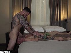 Jordan Levine with West Deene at Raw Fuck Scene 1 - Trailer