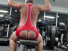 PHIL WILLIAMS: Assless Gym Outfit