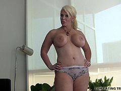 Eat your cum off my big tits CEI