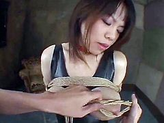 Very kinky filthy Japanese bondage bdsm milking session...