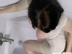 Oh yeah, it looks very romantic and it does not matter that it's not rain at all, but only a shower, but these transparent jets add their meeting a special charm. Sensual lesbians lick and finger each other's pussies in extremely erotic manner