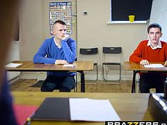 Brazzers - Big Tits at School - Blanche Bradburry Jordi El Nino Polla & Sam Bourne - Teacher Tease - Trailer preview