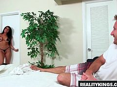 Romi Rain Levi Cash - Frontal Wedge - Reality Kings