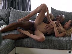 Huge black cocks, tight pussies, hottest sex that we've collected at one place just for you. Join Black4k and enjoy breathtaking interracial sex session. Amazing beauty Monique Woods gets brutally fucked! Hot stuff!