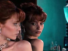 Abbey Lee & Carla Gugino Nude in Elizabeth Harvest (2018)
