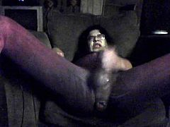 squirting masturbation crossdresser