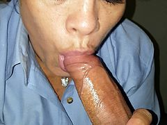 Married MILF Co-worker Practices Sucking Cock (Part 1)