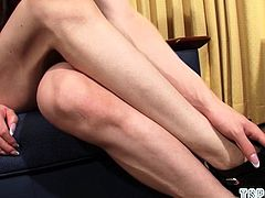 Japan shemale flip flop and cumshot