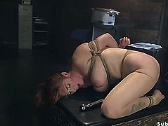 Large love melons intern anal screwed in servitude