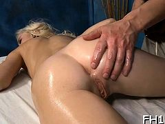 Watch these beauties get drilled hard by their masseur