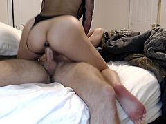 Asian Teen & BF Make a Sextape