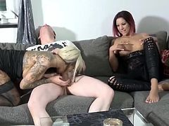 My Lucky Dad Fucks Two Hot MILFs in My Room