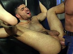Angel Duran seems to be in safe hands, because Dominic Pacifico will not calm down, until in a fit of passion, he makes Angel forget his name. Gay bondage with intense SM & hardcore sex. Join and have fun!.