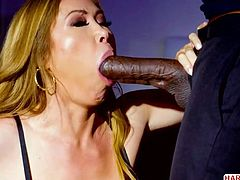 Asian superstar Kianna Dior takes Mandingo's BBC