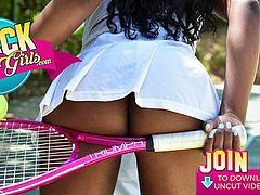 BlackValleyGirls - Ebony Teen Loni Legend Makes The Best Twerking Videos