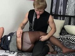 Aroused Carrie Beasley gets hard core treatment
