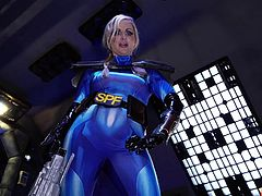 We all are incredibly lucky to have Georgie in our team on this long space expedition. How could we relax in such circumstances? Any suggestions? The busty blonde milf always has fresh ideas. For example, today she sucks our dicks, each in turn... Join and have fun!