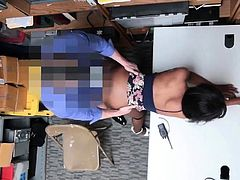 Caught my bosss mom masturbating and black woman police