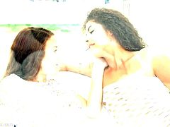 Tiffany Doll and Laurita in Sapphic dreaming lesbians by