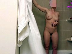 Wife naked bathroom hidden cam, amazing super hardcore, best amateur porn, real amateurs sluts