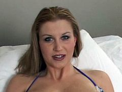 Busty Big Natural Tits milf Sara Stone in Big Tits Curvy Asses scene . Enjoy this horny blonde slut suck and fuck a hard cock in HD