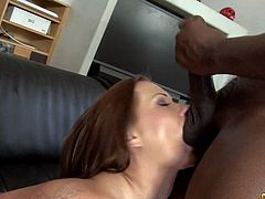 Hot european babe loves black dick in er tiny ass . Just watch this stunning brunette hottie Katja Kassin fucked by a black dude at home