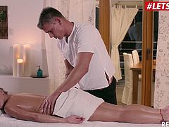 LETSDOEIT - Russian Teen Pussy Massage and Sex