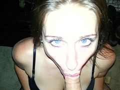amateur ex girlfriend Monicat homemade Michigan dick sucking